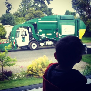 Garbage truck love