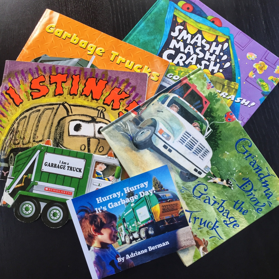 Gbage Truck Books
